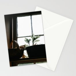 Plants in the Pantry Window Stationery Cards