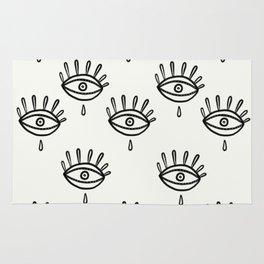 Aye eye Rug