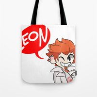 baseball Tote Bags featuring Baseball by dartty