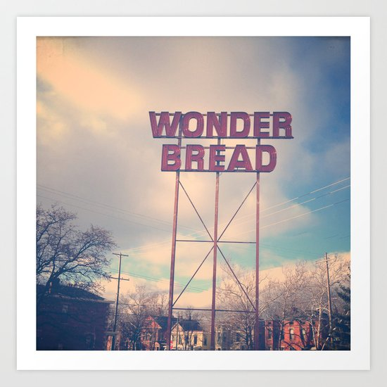 Always Wonder Art Print