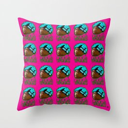 """Playing With My Emotions"" Throw Pillow"