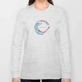 AbbraccioMi // Hugging Myself Long Sleeve T-shirt