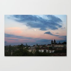 pastel shades for days Canvas Print