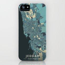 Jeddah, Saudi Arabia - Cream Blue iPhone Case