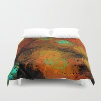 fireworks Duvet Covers featuring Fireworks by Imagology