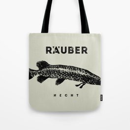 Hecht / Pike Tote Bag