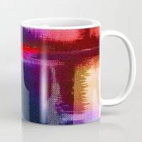 fabric Mugs featuring Splat Fabric by Good Sense