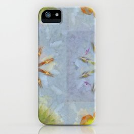 Confusingly Trance Flower  ID:16165-092126-35290 iPhone Case