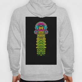 Love me give me a home indoors popart Hoody