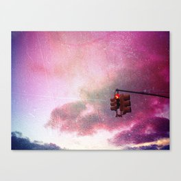 Pink Sky Canvas Print