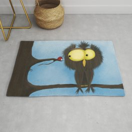 Oliver the Owl and his Visitor Rug