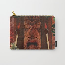 Forbidden Luau Tiki Party Carry-All Pouch