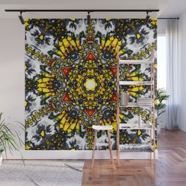 The Flower Tower Wall Mural