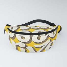 Stay Positive - Hand Lettering Retro Fanny Pack
