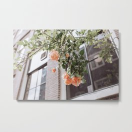 Colorful floral vibes | Botanical fine art photography from Amsterdam The Netherlands Metal Print