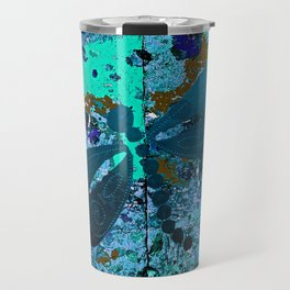 Dragonfly Blue Travel Mug