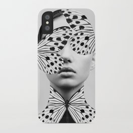 Woman Butterfly iPhone Case