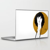melissa smith Laptop & iPad Skins featuring Patti Smith by Le Butthead