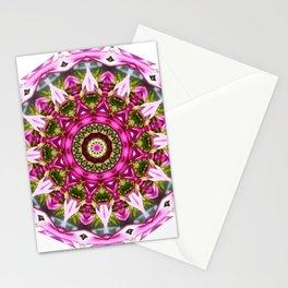 Spring blossoms 2.0, Nature Mandala Stationery Cards