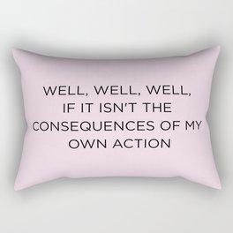 Well, well, well… Rectangular Pillow
