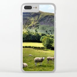 Lucky Sheep Clear iPhone Case