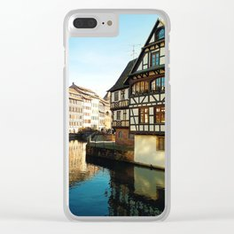 Strasbourg Clear iPhone Case
