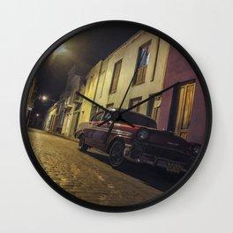 Havana Streets Wall Clock