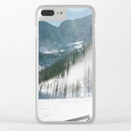 JEWEL LAKE 01 Clear iPhone Case