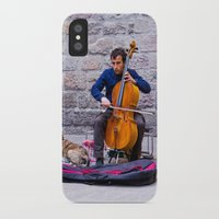 cello iPhone & iPod Cases featuring Cello by Fernando Derkoski