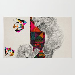 The Innocent Wilderness by Peter Striffolino and Kris Tate Rug