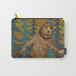 Bigfoot birthday card Carry-All Pouch