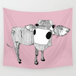 Cowface Wall Tapestry
