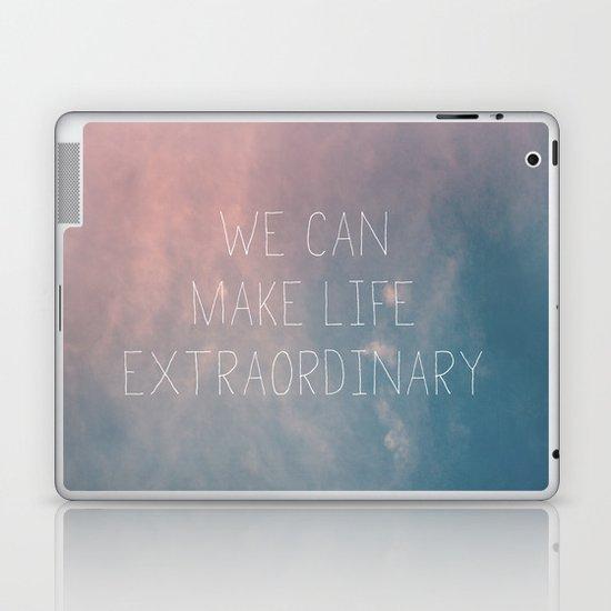 Extraordinary I Laptop & iPad Skin