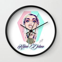 ADORE DELANO - Grunge Queen Realness Wall Clock