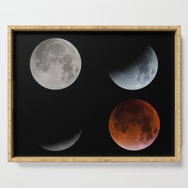 Blood Moon Transition in 4 Serving Tray