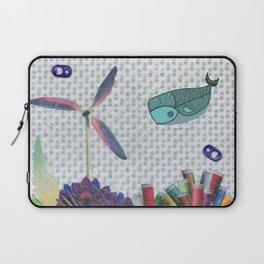 Skipping School Laptop Sleeve