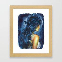 Inside my head Framed Art Print