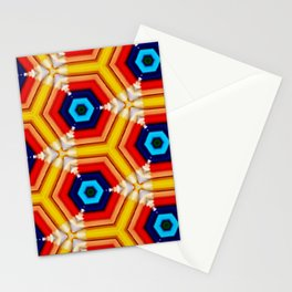 geometric colorfull Stationery Cards