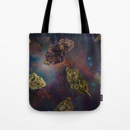 Weed in Space Tote Bag