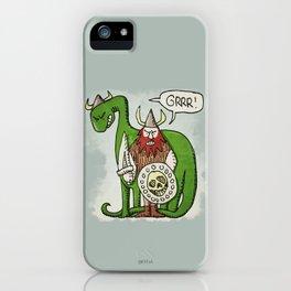 GRRR! (color) iPhone Case