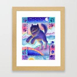 Remember Romeo the Wolf Framed Art Print