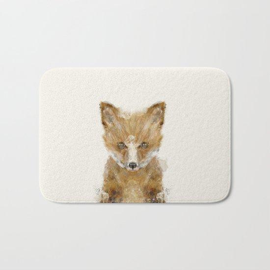 little fox cub Bath Mat