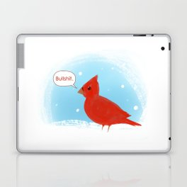 Winter Cardinal Laptop & iPad Skin