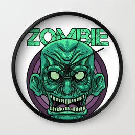 Zombie Monster Beast Infected Rotter Dead-Man Gift  Wall Clock