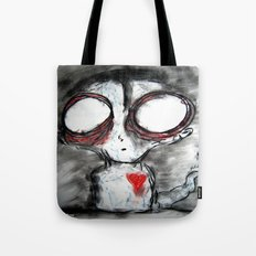Bug Eyed Oddity Tote Bag