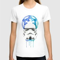 storm trooper T-shirts featuring Storm Trooper by Leigh Roundy