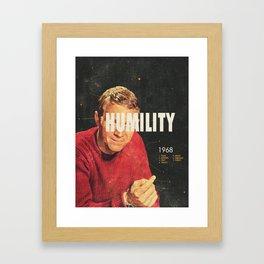 Humility 1968 Framed Art Print