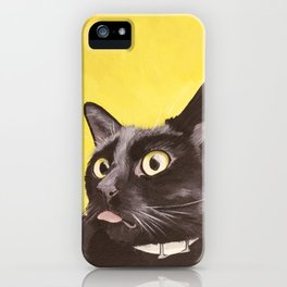 Cat Portrait #2 - Commissioner Gordon (2016) iPhone Case