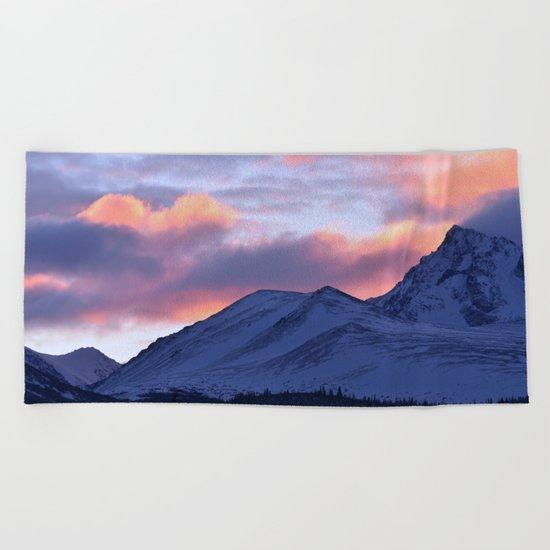 Rose Serenity Sunrise - II Beach Towel