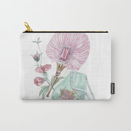 Fan and handbag in the style of Marie Antoinette Carry-All Pouch